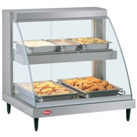 Hatco GRCD-2PD 32 inch Glo-Ray Double Shelf Merchandiser - 1210W