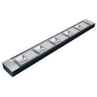 Hatco NLX-66 66 inch Black Narrow Xenon Display Light - 450W