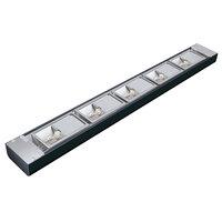 Hatco NLX-30 30 inch Black Narrow Xenon Display Light - 150W