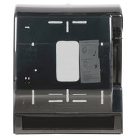 Black Roll Towel Dispenser with Lever