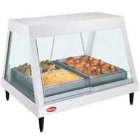 Hatco GRHD-2P White Granite Stainless Steel Glo-Ray 32 1/2 inch Full Service Single Shelf Merchandiser