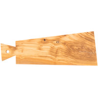American Metalcraft OWB118 16 5/8 inch x 5 7/8 inch Olive Wood Serving Board