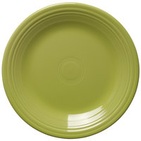 Homer Laughlin 466332 Fiesta Lemongrass 10 1/2 inch Dinner Plate - 12 / Case