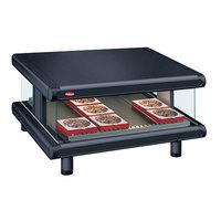 Hatco GR2SDS-36 Black Glo-Ray Designer 36 inch Slanted Single Shelf Merchandiser - 120V