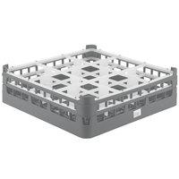 Vollrath 52727 Signature Full-Size Gray 9-Compartment 4 5/16 inch Medium Glass Rack