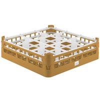 Vollrath 52727 Signature Full-Size Gold 9-Compartment 4 5/16 inch Medium Glass Rack