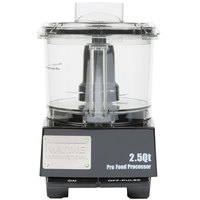 Waring WFP11SW Food Processor with 2.5 Qt. Bowl - 3/4 hp