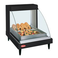 Hatco GRCD-1P Black 20 inch Glo-Ray Full Service Single Shelf Merchandiser - 120V, 410W