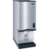 Manitowoc RNS-20AT Air Cooled Countertop Ice Maker and Water Dispenser - 20 lb. Bin with Sensor Dispensing