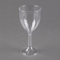 WNA Comet CWSWN6 6 oz. Clear Plastic Classicware Wine Glass - 100/Case
