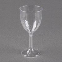 WNA Comet CWSWN6 6 oz. Clear Plastic Classicware Wine Glass - 100/Case
