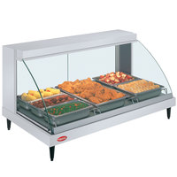 Hatco GRCD-3P White 45 inch Glo-Ray Full Service Single Shelf Merchandiser - 120V, 1005W