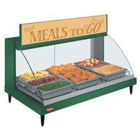 Hatco GRCD-3P Green 45 inch Glo-Ray Full Service Single Shelf Merchandiser - 120V, 1005W
