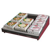 Hatco GRPWS-4824 Wine Red Glo-Ray 48 inch Single Shelf Pizza Warmer - 955W