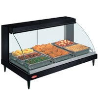 Hatco GRCD-3P Black 45 inch Glo-Ray Full Service Single Shelf Merchandiser - 120V, 1005W
