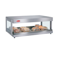 Hatco GRSDH-36 White Granite Glo-Ray 36 inch Horizontal Single Shelf Merchandiser - 120V