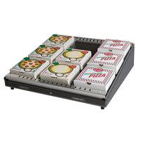 Hatco GRPWS-4824 Granite Gray Glo-Ray 48 inch Single Shelf Pizza Warmer - 955W