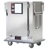 Metro MBQ-90-QH Insulated Heated Banquet Cabinet With Quad-Heat System- One Door Holds up to 90 Plates 120V
