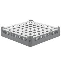 Vollrath 52784 Signature Full-Size Gray 49-Compartment 3 1/4 inch Short Plus Glass Rack