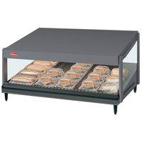 Hatco GRSDS-60 Gray Granite Glo-Ray 60 inch Slanted Single Shelf Merchandiser - 120V