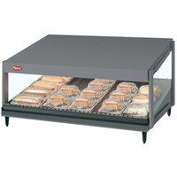 Hatco GRSDS-36 Gray Granite Glo-Ray 36 inch Slanted Single Shelf Merchandiser - 120V