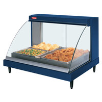 Hatco GRCDH-2P Navy 33 inch Glo-Ray Full Service Single Shelf Merchandiser with Humidity Controls - 1030W