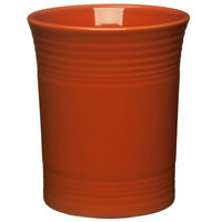 Homer Laughlin 447334 Fiesta Paprika 6 5/8 inch Utensil Crock - 4/Case