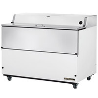 True TMC-58 58 inch White One Sided Milk Cooler
