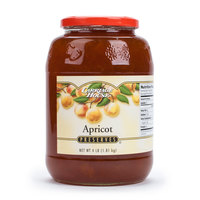 Apricot Preserves - (6) 4 lb. Glass Jars / Case