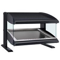 Hatco HZMS-42 Gray Granite 42 inch Slanted Single Shelf Heated Zone Merchandiser - 120V
