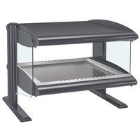 Hatco HZMH-48 Gray Granite 48 inch Horizontal Single Shelf Heated Zone Merchandiser - 120V