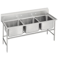 Advance Tabco 94-83-60 Spec Line Three Compartment Pot Sink - 74 inch