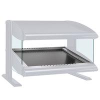 Hatco HZMS-54 White Granite 54 inch Slanted Single Shelf Heated Zone Merchandiser - 120V