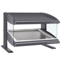 Hatco HZMS-60 Gray Granite 60 inch Slanted Single Shelf Heated Zone Merchandiser - 120V