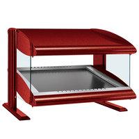 Hatco HZMS-48 Warm Red 48 inch Slanted Single Shelf Heated Zone Merchandiser - 120V