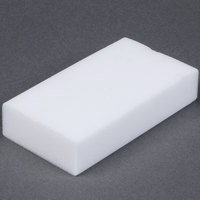 Royal Paper S724 Individually Wrapped 4 5/8 inch x 2 1/2 inch Wipe Out Eraser Sponge - 4 / Pack
