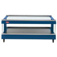 Hatco GR3SDS-39 Navy Blue Glo-Ray 39 inch Slanted Single Shelf Heated Glass Merchandising Warmer - 120V