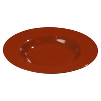 Carlisle 3303005 Sierrus 12 inch Red Chef Salad / Pasta Bowl - 12/Case