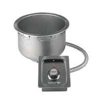 Wells SS10TUCI 11 Qt. Insulated Round Drop-In Soup Well with Plug - Top Mount, Thermostatic Control