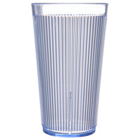 Carlisle 403414 Crystalon Ocean Blue RimGlow Polycarbonate Tumbler 16 oz. - 48/Case