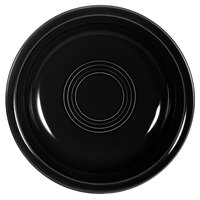 CAC TG-B7-BLK Tango 20 oz. Black Round Nappie Bowl - 24 / Case