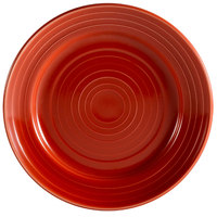 CAC TG-7-R Tango 7 1/2 inch Red Round Plate - 36 / Case
