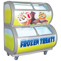 Excellence DS-30 Frozen Food / Ice Cream Case - 9.9 cu. ft.