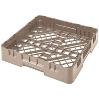 Cambro BR258184 Beige Camrack Full Size Open Base Rack