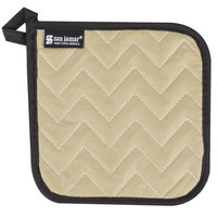 San Jamar 812TPH 7 inch x 7 inch Bestan Cotton Pot Holder - 12/Pack