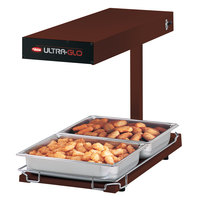 Hatco UGFFBL Ultra-Glo Copper Portable Food Warmer with Base Heat and Lights - 120V, 1120W