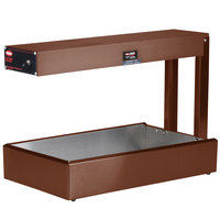 Hatco GRFF Glo-Ray Copper 12 3/4 inch x 24 inch Portable Food Warmer - 120V, 500W