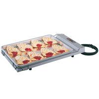 Hatco GR-B Glo-Ray 13 inch x 22 inch Portable Food Warmer with Heated Base - 120V, 250W