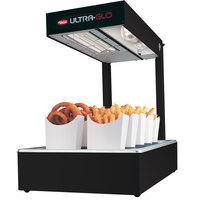 Hatco UGFFL Ultra-Glo Black Portable Food Warmer with Lights - 120V, 870W