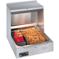 Hatco GRFHS-21 Glo-Ray 21 inch Portable Fry Holding Station - 120V, 1200W